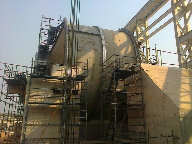 mill rotation winch
